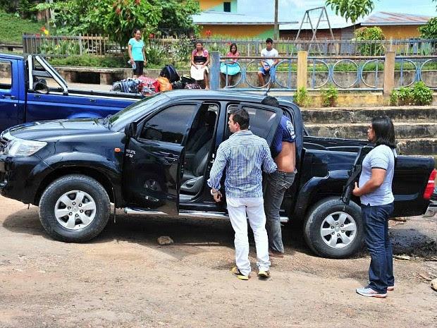 Homem de 41 anos estava em posse do carro e foi indiciado por receptação, segundo a Polícia Civil (Foto: Divulgação/Polícia Civil)