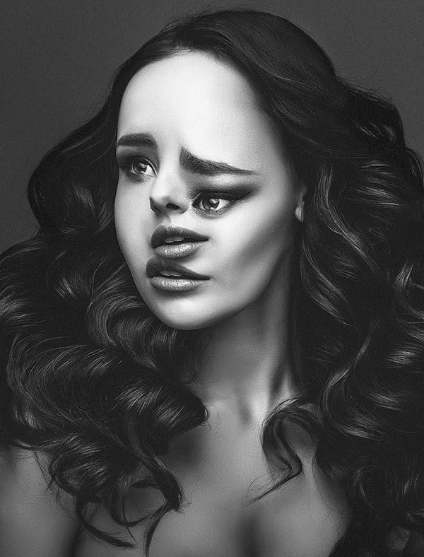 Artist Digitally Manipulates Fashion Portraits To Create ...