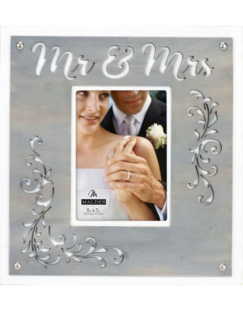 5x712x13 Mr Mrs Layer Frame Gifts And More