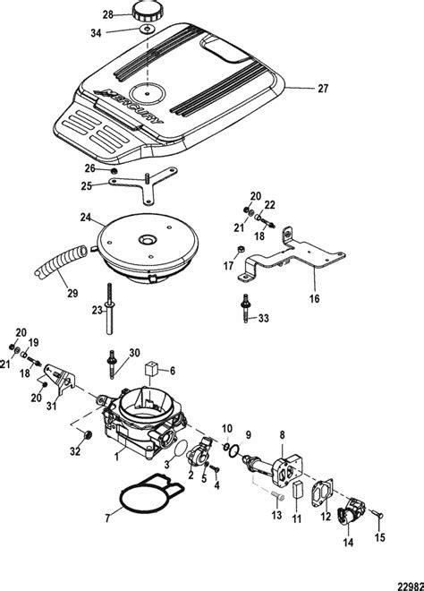 MerCruiser 4.3L MPI Alpha / Bravo Throttle Body Parts