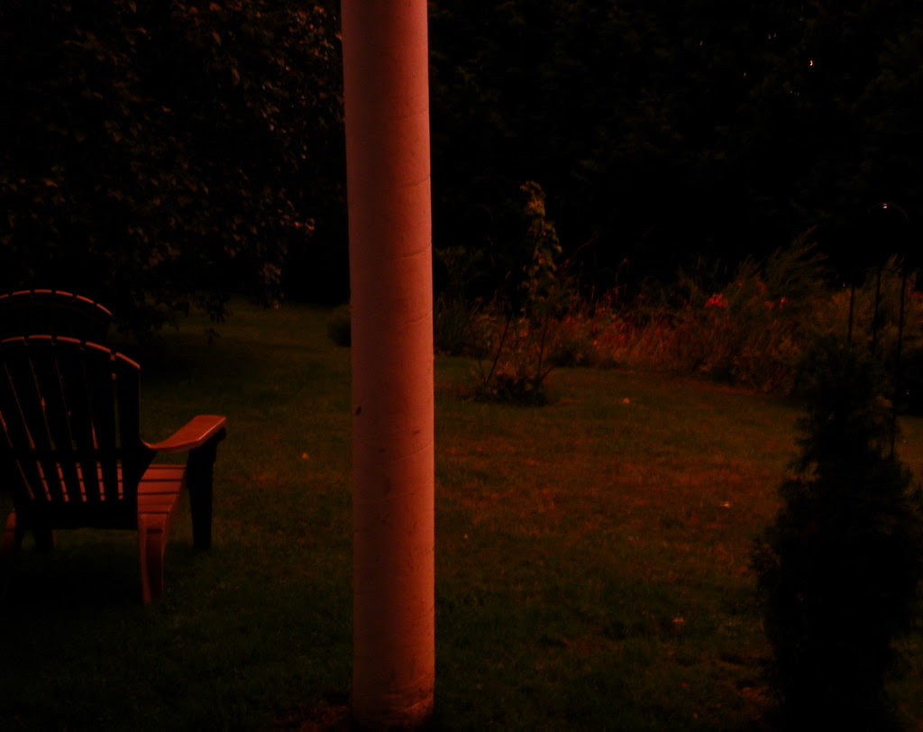 Eerie Before Irene Light At Dusk