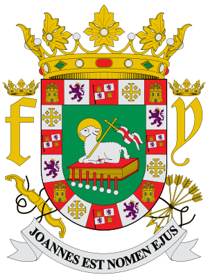 Coat of Arms of the Commonwealth of Puerto Rico