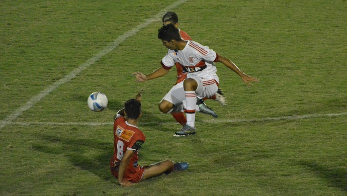 Flamengo x União Mogi Copa São Paulo de Futebol Júnior (Foto: Cairo Oliveira)