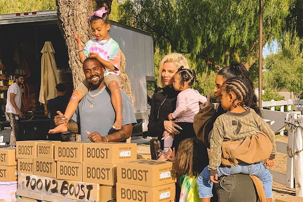72828dfa201f8 Google News - Kanye West sells YEEZYs for mental health charity ...