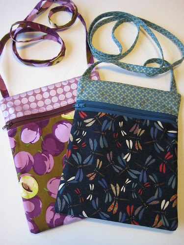 Runaround Bags front by Poppyprint
