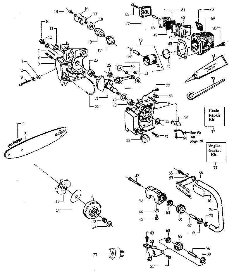 Stihl Parts Diagrams