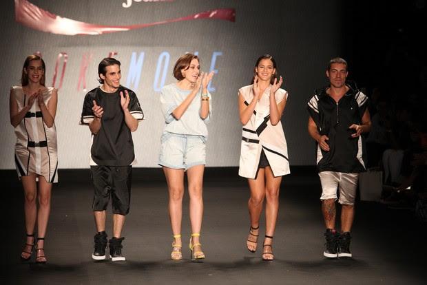 Sophia Abrahão, Fiuk, Bruna Marquezine e Di Ferrero (Foto: Claudio Andrade / Foto Rio News)