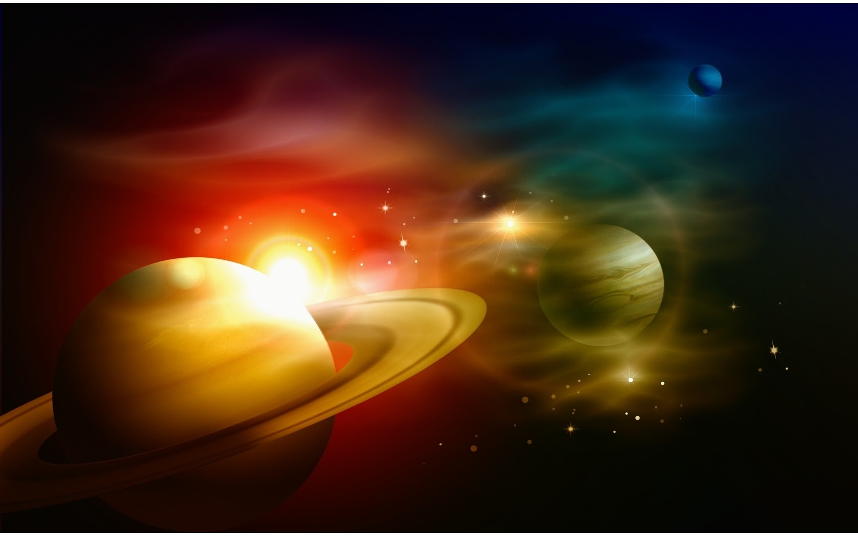 Free 3d Animated Moving Space Wallpaper Planets