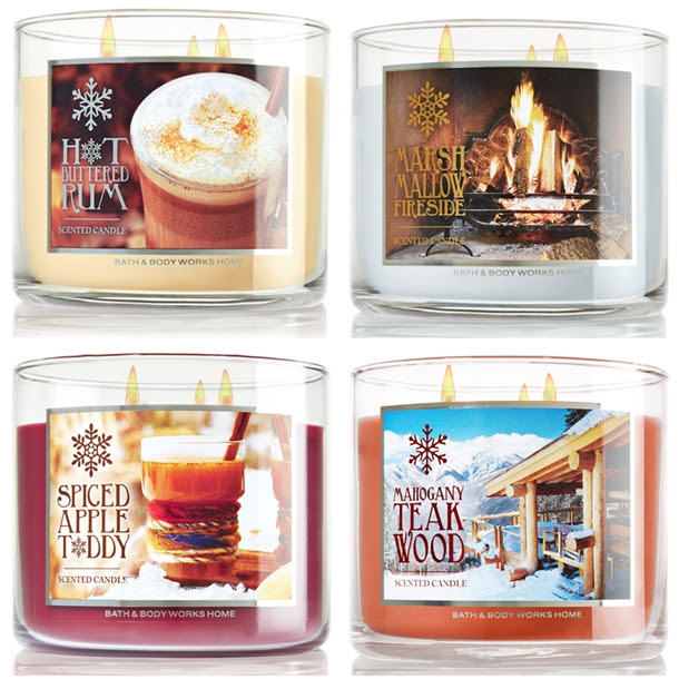 Image result for bath and body works candles winter