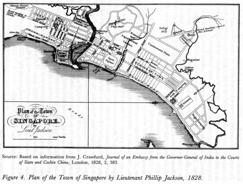 Plan of the Town of Singapore