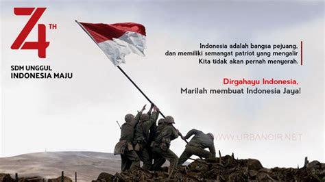 kata kata mutiara menyambut hari kemerdekaan  agustus