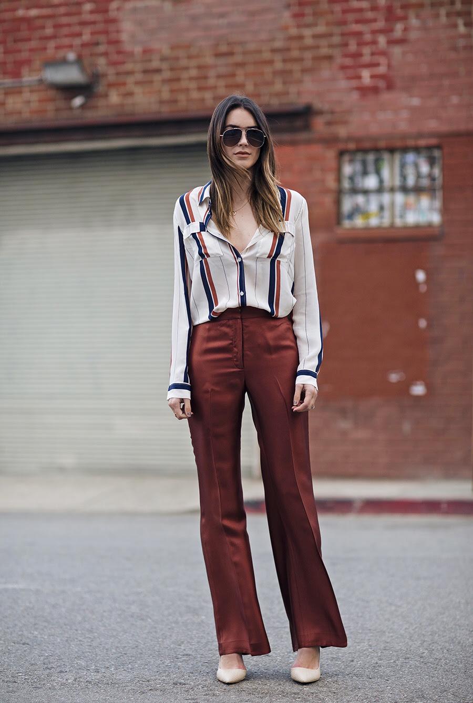 Wide Leg Trousers Street Style