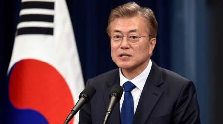 Better interrelations linked to resolving North Korea's nuclear issue: South's President Moon Jae-in