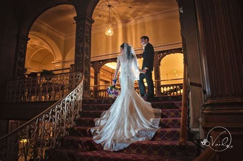 Fairmont Olympic Hotel Seattle Wedding Photographers