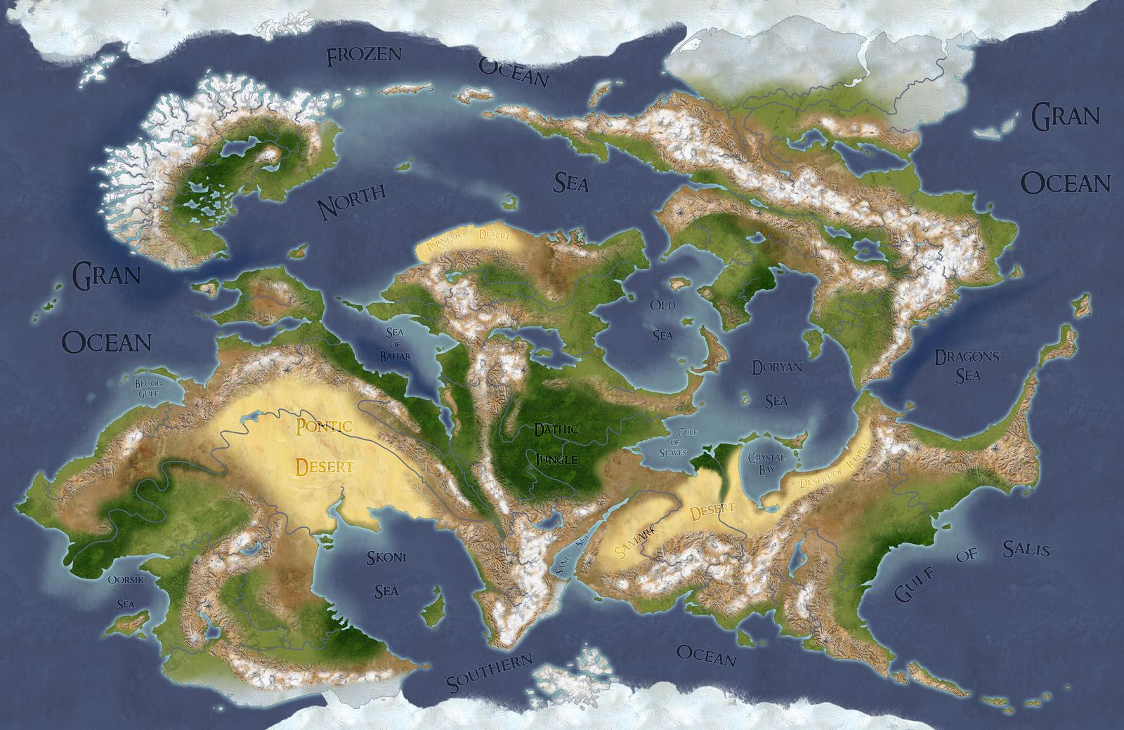 Fantasy World Map Creator Free Map Of Us Western States