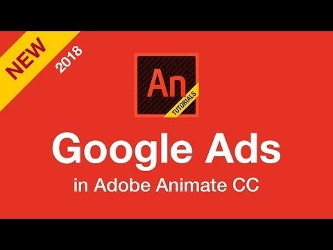 Google Ads in Animate CC