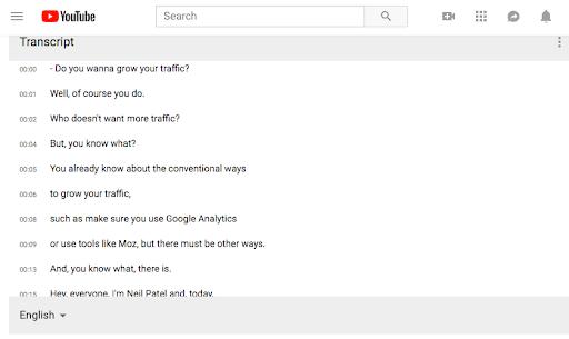 YouTube Transcript