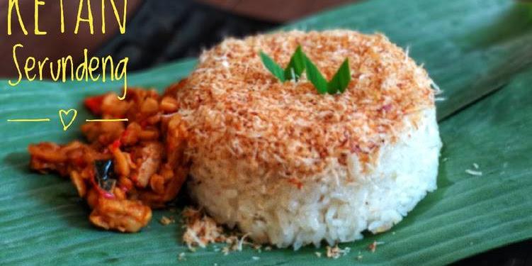 Resep Ketan Serundeng Atau Songkolo Makassar Oleh Lisa Firnandy
