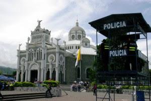 Fuerza Pública participa de los operativos para la romería. CRH