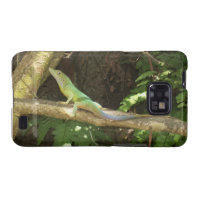 Jamaican Green Lizard Galaxy SII Case