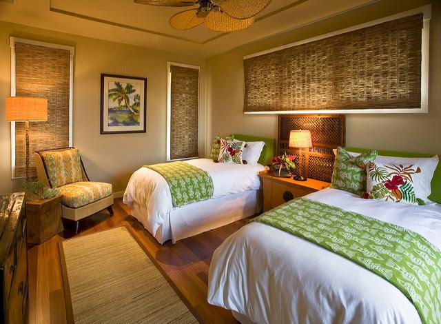 Hawaiian Cottage Style - tropical - bedroom - hawaii - by Fine