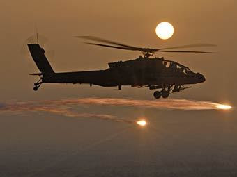 AH-64 Apache. Фото с сайта army.mil