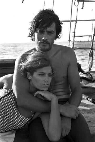 Alain y Nathalie Delon