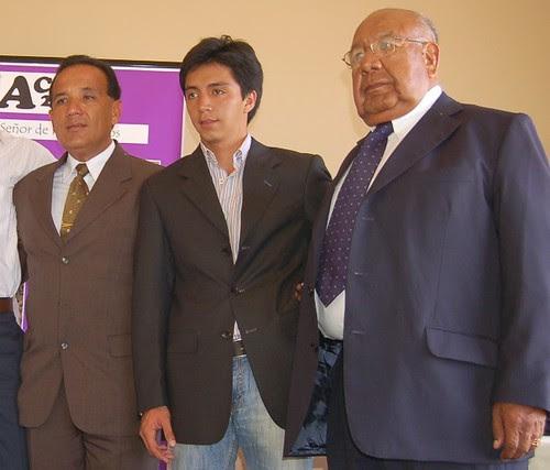 Freddy Villafuerte, Juan Carlos Cubas, Nazario Villafuerte