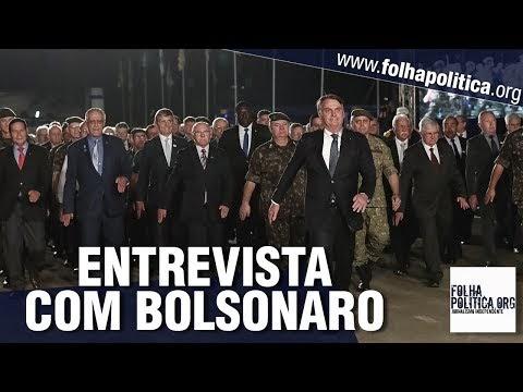 Bolsonaro concede entrevista a respeito de parceria militar com Donald Trump, EUA, 'aliado extra-OTAN' e Artilharia