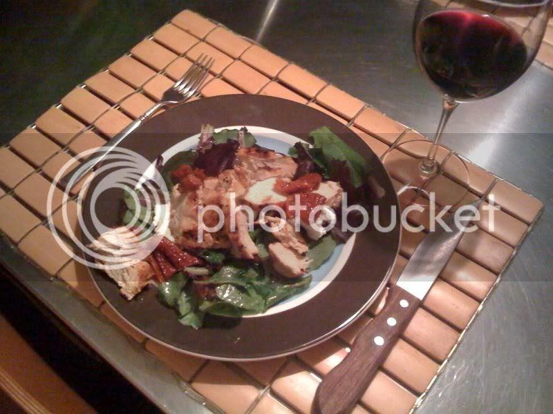 chicken w goat cheese & sundried