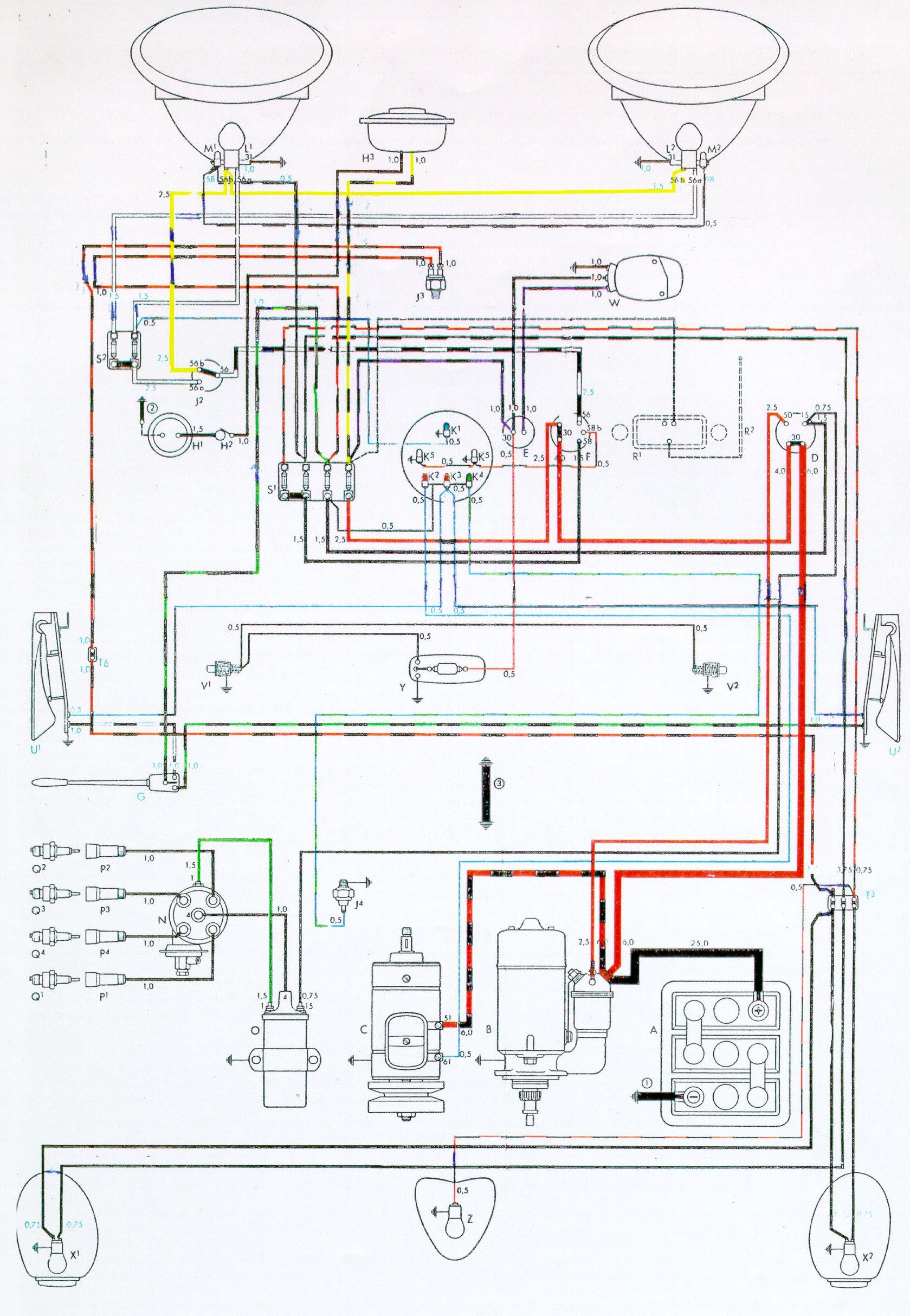 1967 Vw Bug Alternator Wiring Diagram Bege Wiring Diagram