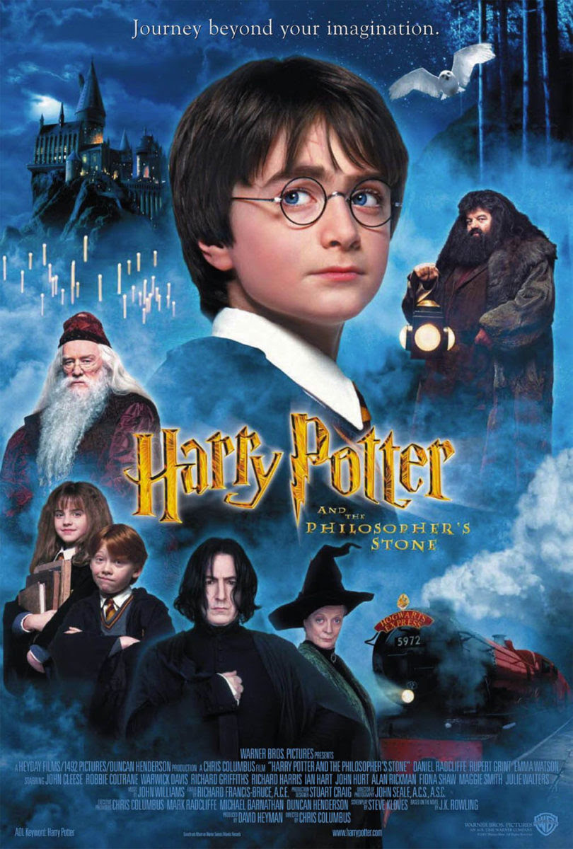 Image result for harry potter and the sorcerer's stone MOVIE POSTER