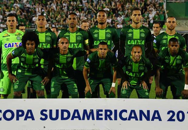 Tocantins votes for Chapecoense players in FIFA World XI ballot