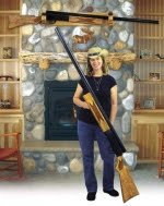 Big Shotgun Woodworking Plan - fee plans from WoodworkersWorkshop® Online Store - firearms,shotguns,hunting,hunters,full sized patterns,woodworking plans,woodworkers projects,blueprints,drawings,blueprints,how-to-build,MeiselWoodHobby