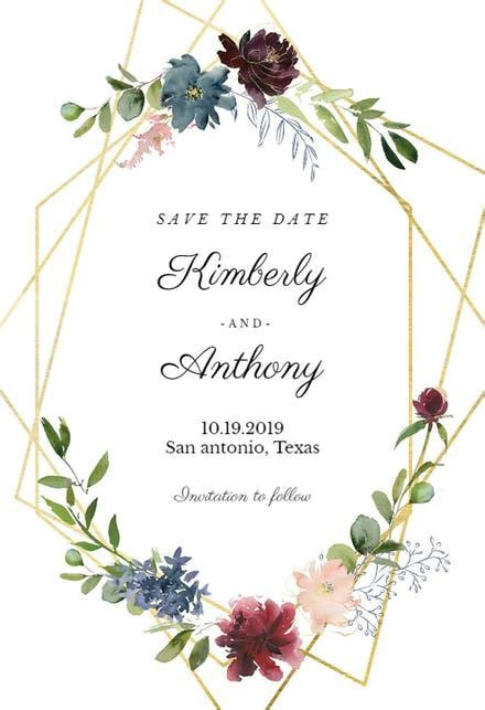 Save The Date Templates (Free)   Greetings Island