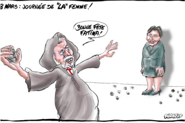 Cette caricature a été publiée dansLeCourrier du Sudde... (ILLUSTRATION TIRÉE DE L'INTERNET)
