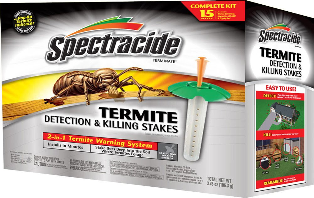 Amazon.com : Spectracide 95852 Terminate Termite Detection Killing ...