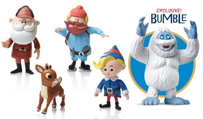 Rudolph 50th Anniversary Limited Edition Talking Figures Set Of 4