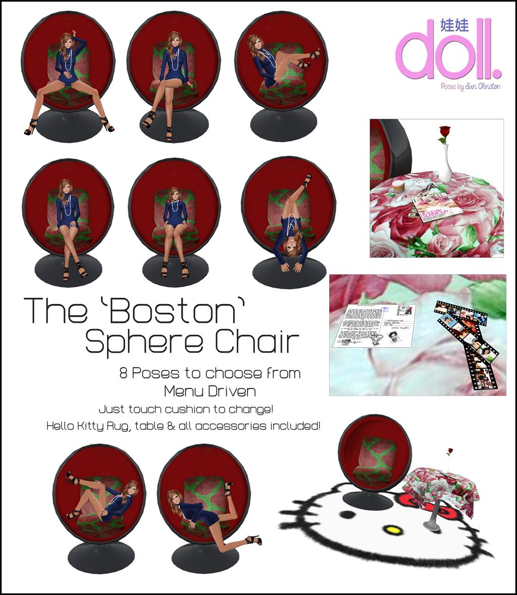 [doll.] The Boston Sphere Chair