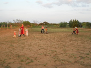 More of The Children Having Fun Outside on The 12th Orange Day, 2012