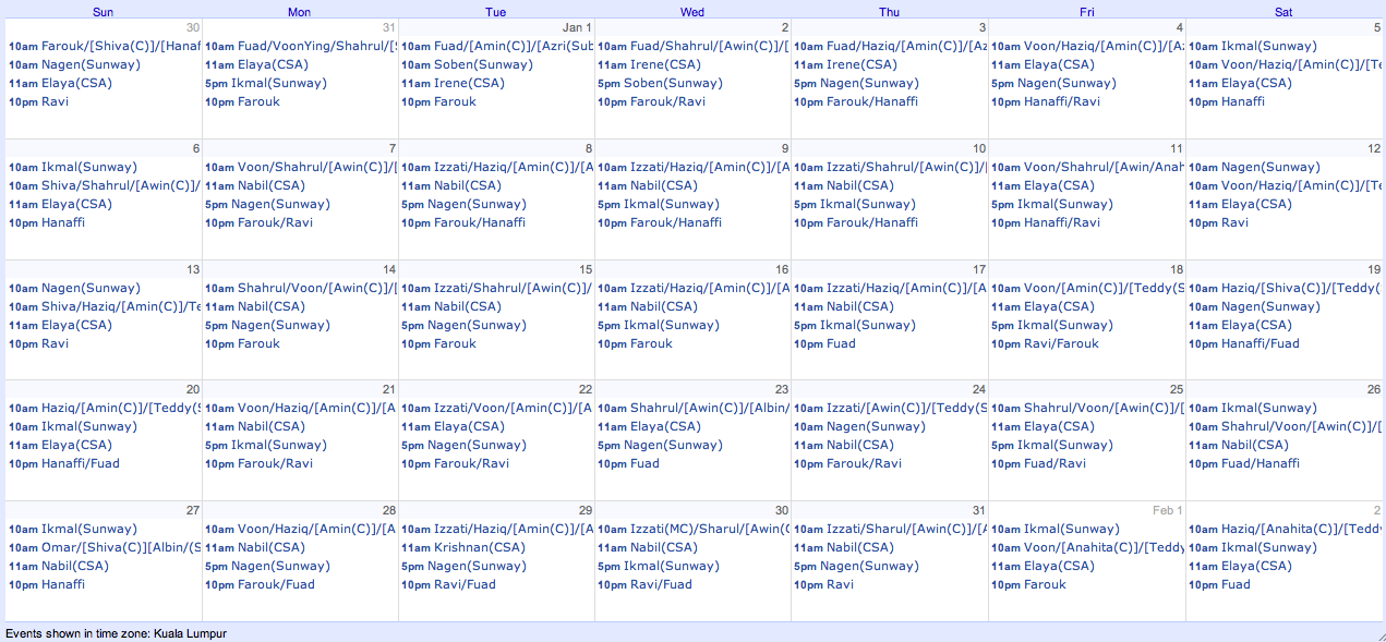 Work Schedule, Daily Report, Handover Report, Function Report, and ...