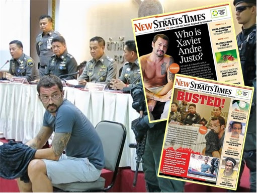 1MDB Scandal - Xavier Andre Justo Arrested in Thailand - New Straits Times