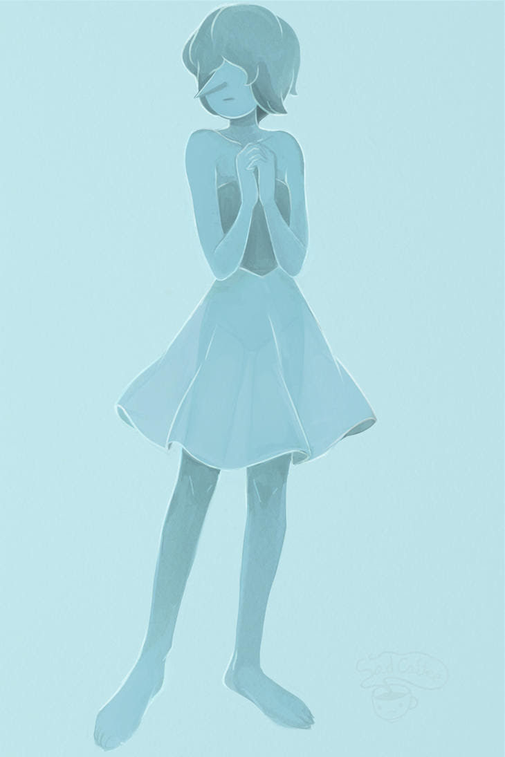 Blue pearl from steven universe