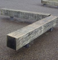 Benches, chairs & seats from new & used railway sleepers