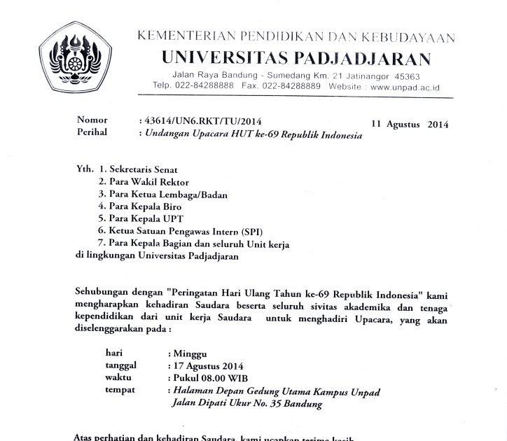 Contoh Surat Undangan Rapat Rt 17 Agustus - Contoh Seputar ...