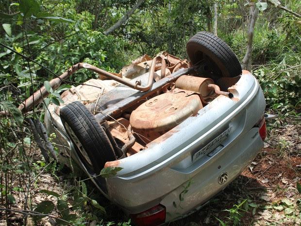 Condutor de moto morreu ainda no local do acidente em Espigão (RO) (Foto: Evisson Borges/Arquivo pessoal)