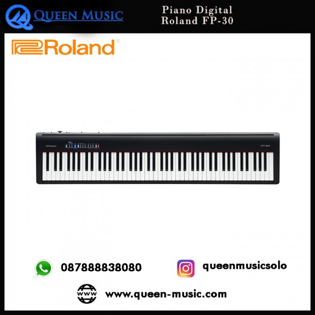 Roland Fp 30 Queen Music Toko Alat Musik Solo Indonesia