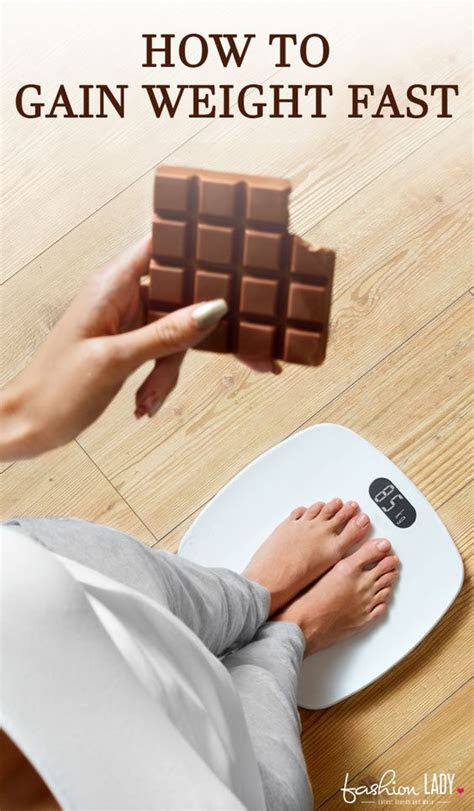 gain weight fast reasons   unable