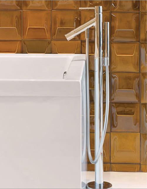Glazed Bathroom Tiles by ModCraft