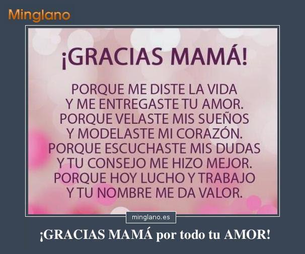 Frases De Agradecimiento Para Una Madre